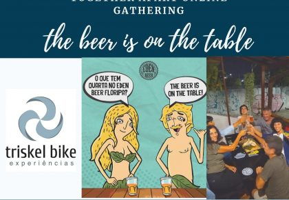 THE BEER IS ON THE TABLE: Juntos online!