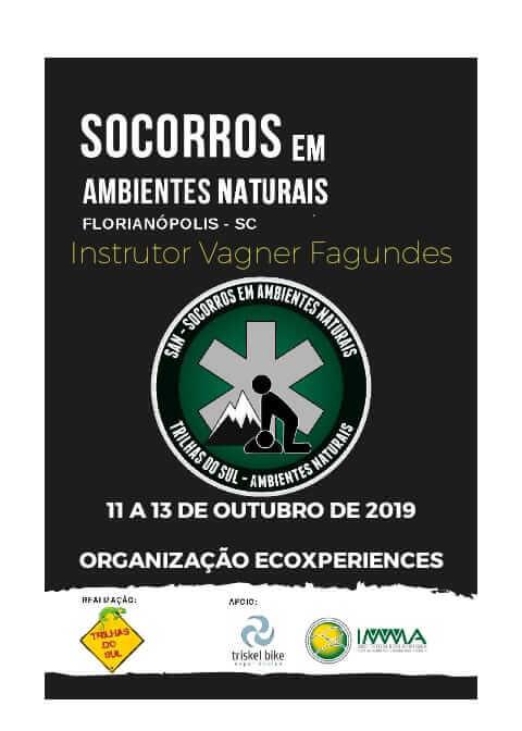 CURSO DE PRIMEIROS SOCORROS EM AMBIENTES NATURAIS
