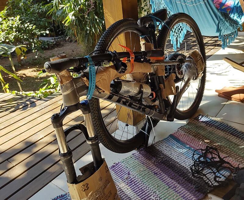 bike protecão